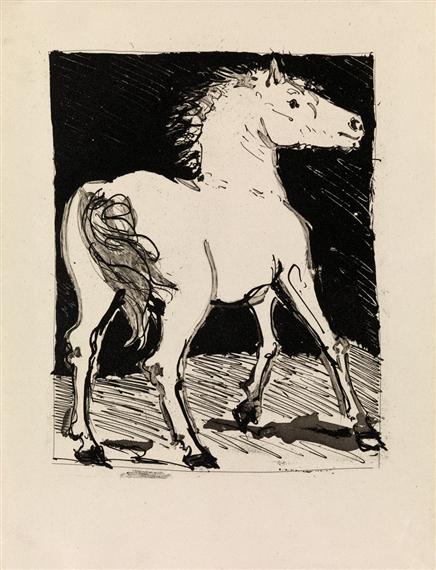 Picasso Pablo | Eaux-Fortes originales pour des textes de Buffon ...