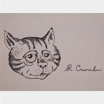 Crumb Robert Fritz The Cat Mutualart