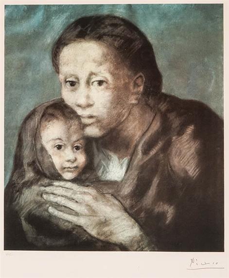 Picasso Pablo | Maternité (1966) | MutualArt
