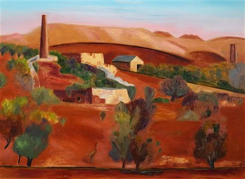 Makin Jeff | Sliding Rock Mine, Flinders Rangers | MutualArt
