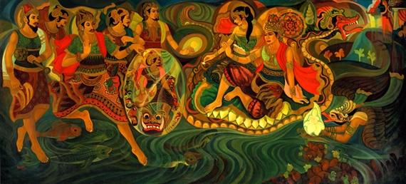 Soedibio | Ramayana Story (1971) | MutualArt