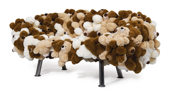 Artwork By Fernando Humberto Campana Teddy Bear Sofa Made Of Stuffed
