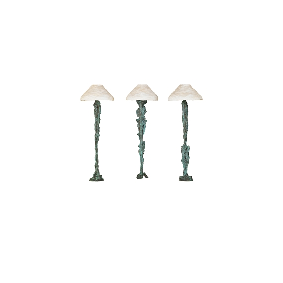 Lord andrew three floor lamps three lamps usa 1988 mutualart artwork by andrew lord three floor lamps three lamps usa made of mozeypictures Images