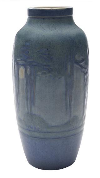 Irvine Sadie Spanish Moss Moon Vase Mutualart