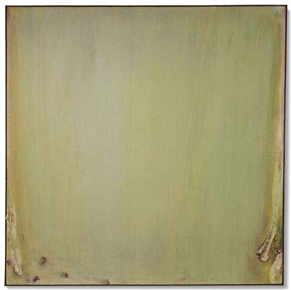 Debré Olivier | Carré vert pâle du jardin (1976) | MutualArt