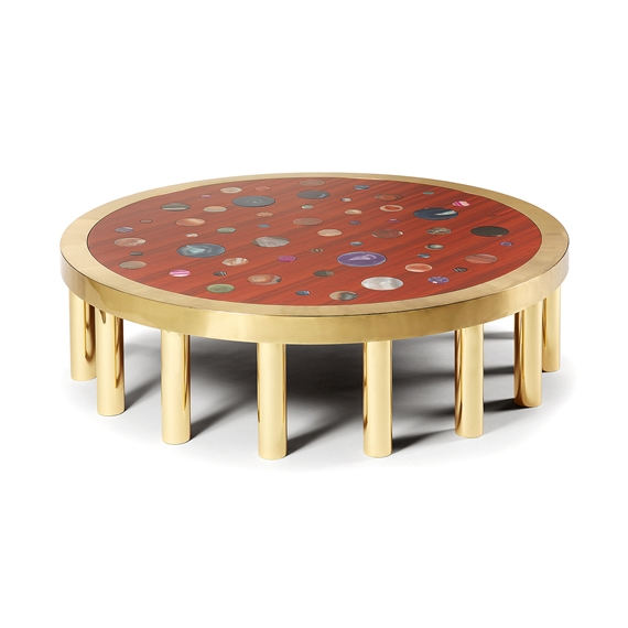 Artwork By Studio Superego A Cosmos Large Circular Coffee Table Made Of