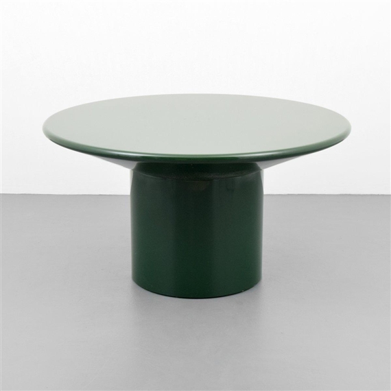 Artwork By Karl Springer Dining Table Made Of Lacquered Wood