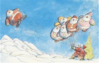 Lobel Arnold | The Balloonman of the North Pole | MutualArt
