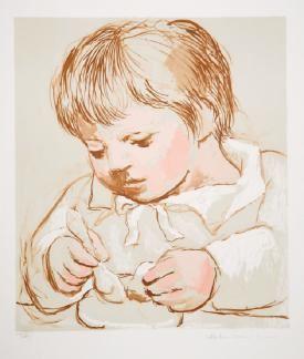 Picasso Pablo | Enfant Deieunant (1922) | MutualArt