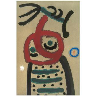 Jardin personnage oiseau avec chapeau métal personnage Gartendeko Bords tabouret peintes à la main