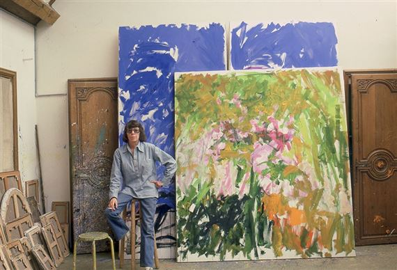 why joan mitchell is the artist of the moment