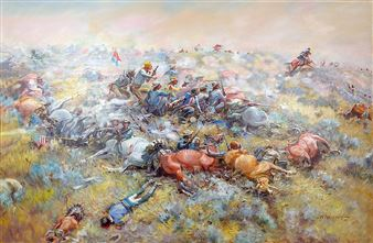Ralston J K    Custer's Last Hope   MutualArt
