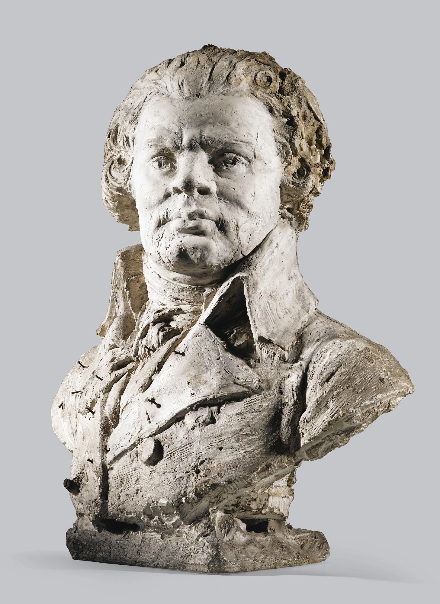 Georges Danton boucquet victor | buste de georges jacques danton (1759-1794