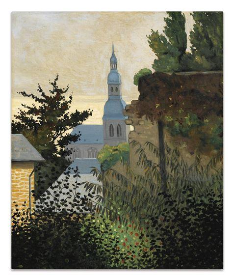 Vallotton Félix   EGLISE SAINT-SAUVEUR À DINAN (1919)   MutualArt
