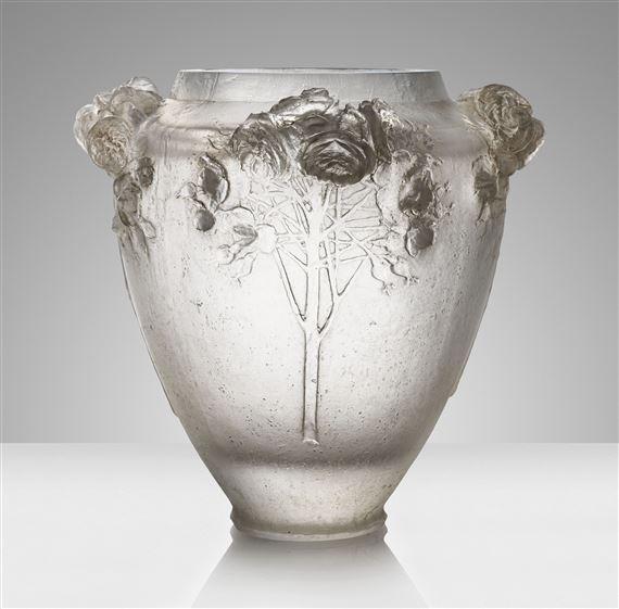 Lalique Ren Roses A Rare And Exceptional Cire Perdue Vase No