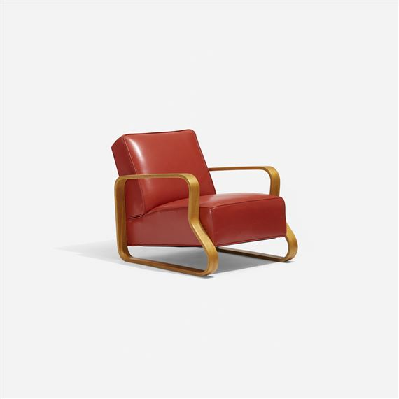Groovy Aalto Alvar Lounge Chair Model 44 1933 Mutualart Pabps2019 Chair Design Images Pabps2019Com