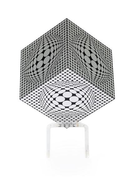 Vasarely Victor | Gaia (1975) | MutualArt
