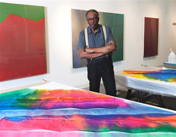 Why Sam Gilliam is the Artist of the Moment