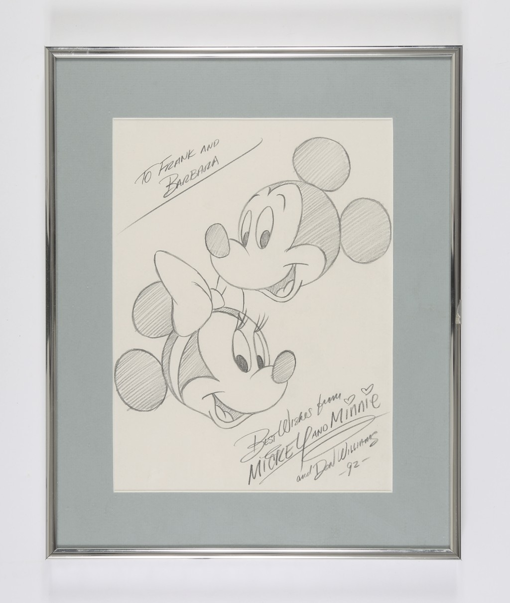 Mickey Mouse And Minnie Mouse Pencil Drawings