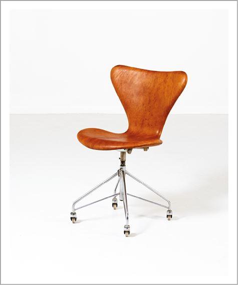 «série «3117»1960 ArneChaise De 7» Modèle Bureau Jacobsen 0vw8nNm