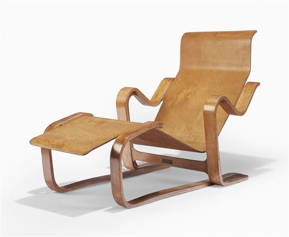 Artwork By Marcel Breuer A CHAISE LONGUE DESIGNED Made Of Laminated Birch