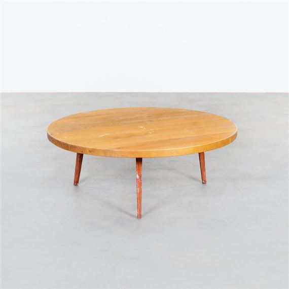 Cool Perriand Charlotte Circular Coffee Table Mutualart Ocoug Best Dining Table And Chair Ideas Images Ocougorg