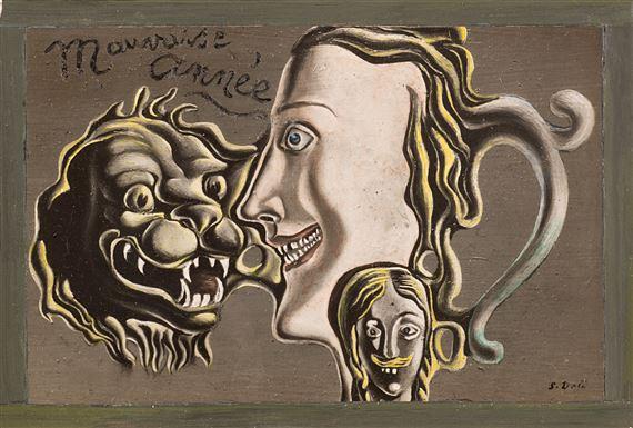 "SALVADOR DALI Painting Poster or Canvas Print /""THE ANTS LAS HORMIGAS /"""