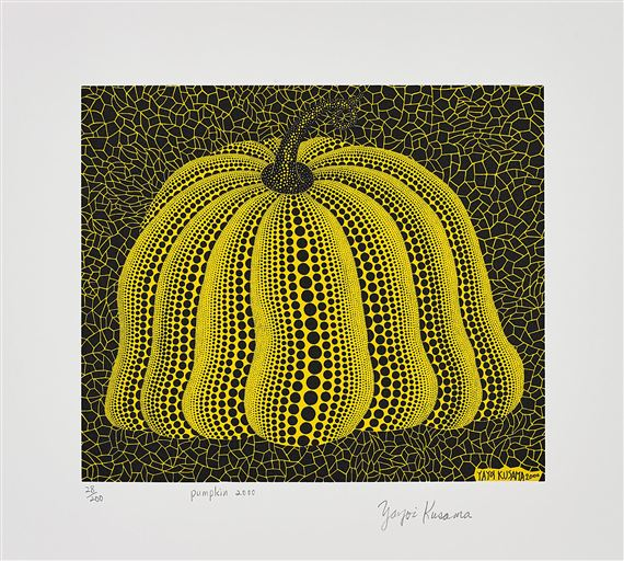 Kusama Yayoi | Pumpkin 2000 (Yellow) (2000) | MutualArt