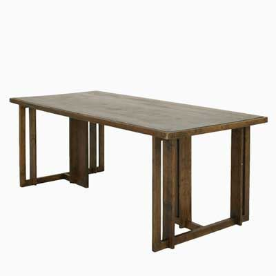 Artwork By Frank Lloyd Wright Dining Table Made Of Oak