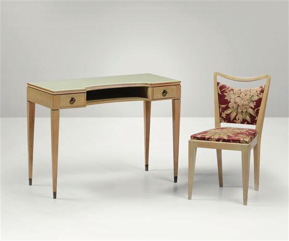 Bega Melchiorre | Set di sedia con scrittoio. Sedia con ...
