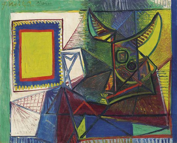 Picasso Pablo Nature Morte Au Crâne De Taureau Mutualart