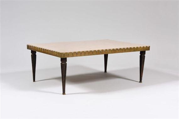 Arbus Andre Table Basse A Plateau Rectangulaire En Pierre