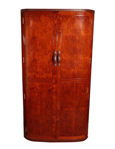 Star Bay Furniture: A Malaga Indian Rosewood Two Door Wardrobe, Model *096,  ...