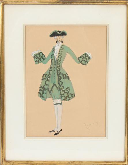design intemporel e53e9 55b81 Domergue Jean-Gabriel | Homme en Costume de Theatre (Early ...
