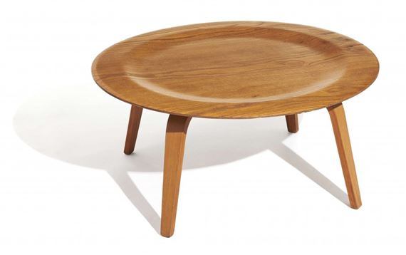 Charles Ray Eames Table Basse Mod Ctw Dite Plywood