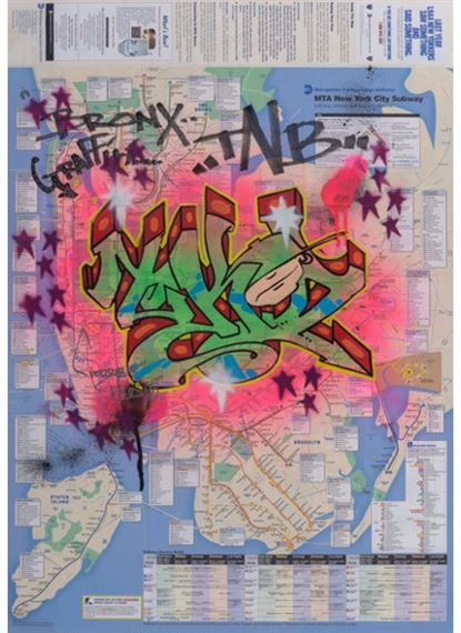 City Subway Map Art.Terrible T Kid170 New York City Subway Map 2010 Mutualart