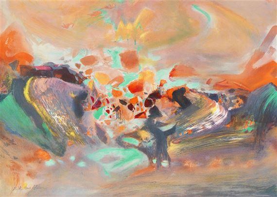 a4c1ecf64cf Artwork by Chu Teh-Chun