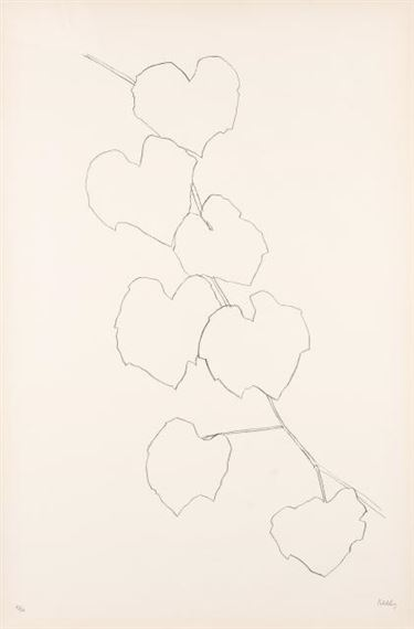 Kelly Ellsworth Grape Leaves Ii A 95 1973 1974