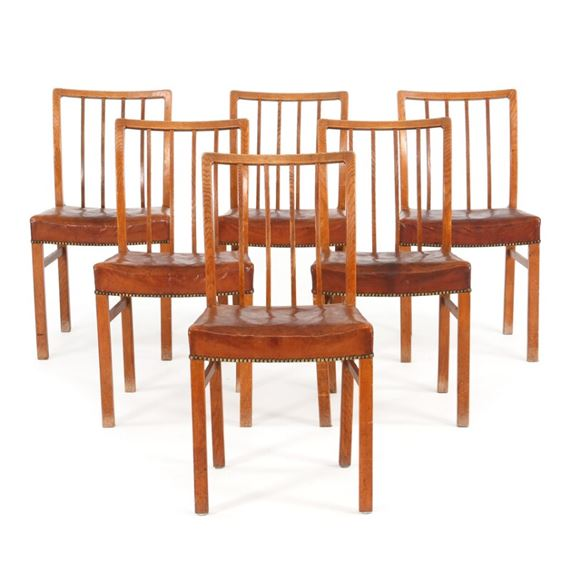 Swell Danish School 20Thcentury Set Of Six Oak Dining Chairs Caraccident5 Cool Chair Designs And Ideas Caraccident5Info