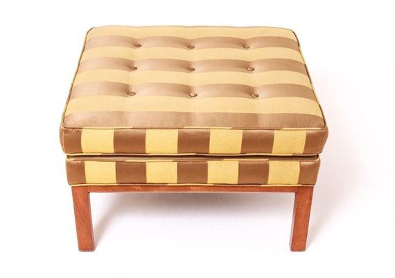 Terrific Wormley Edward Ottoman Square Form Mutualart Camellatalisay Diy Chair Ideas Camellatalisaycom