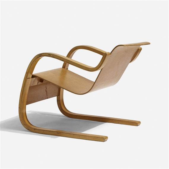 Superb Aalto Alvar Cantilever Lounge Chair Model 31 42 Mutualart Pabps2019 Chair Design Images Pabps2019Com