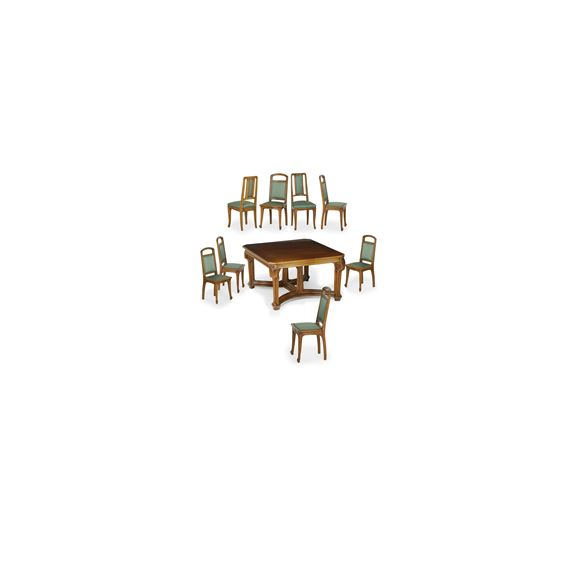 Magnificent Gruber Jacques 9 Works Art Nouveau Dining Table And Home Interior And Landscaping Staixmapetitesourisinfo
