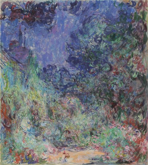 Monet Claude La Route De Giverny Mutualart