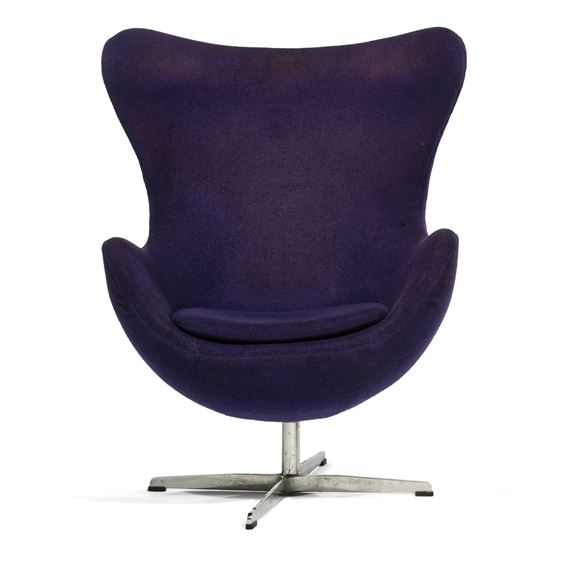 Jacobsen Arne Fauteuil Pivotant Egg Chair Mutualart