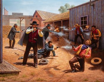 Alfredo Rodriguez | Gunfight at the OK Corral (2013) | MutualArt
