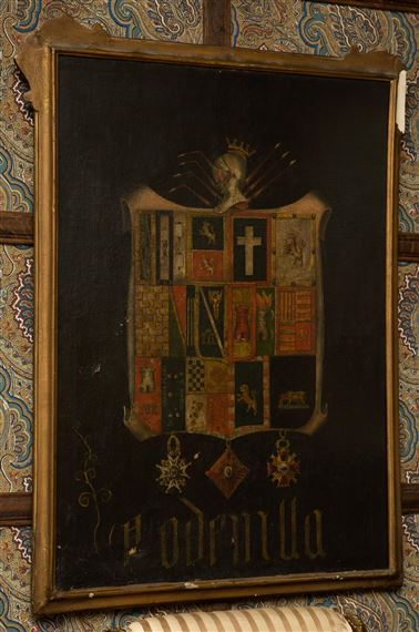 European School, 19thCentury | Coat of Arms with Multiple