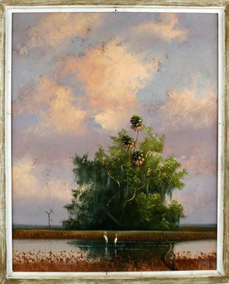 Roberts Livingston | Lush green trees and Florida water