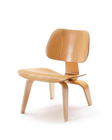 Incredible Charles Ray Eames Chaise Plywood De La Serie Lcw Lounge Uwap Interior Chair Design Uwaporg