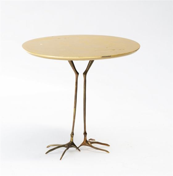 Meret Oppenheim Tavolino.Oppenheim Meret Traccia Side Tabel 1971 Mutualart