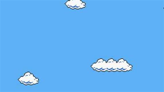 View Mario 8 Bit Clouds Pictures